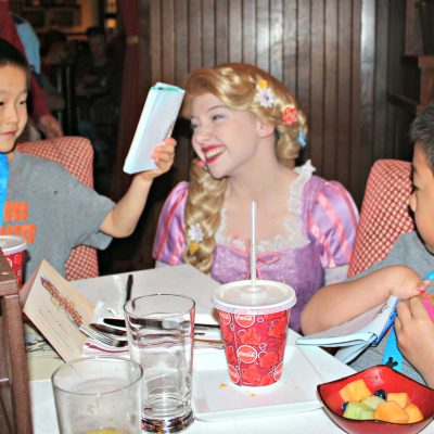 Why we loved the Disney Character Breakfast at Trattoria al Forno