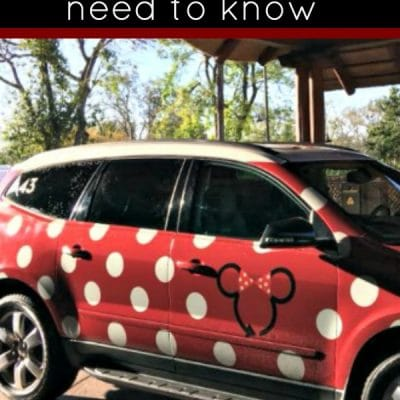 What you need to know about the Minnie Van service at Walt Disney World