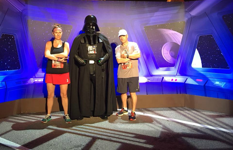 The Star Wars Half Marathon was my first RunDisney event. My husband and I did the Dark Side Half Marathon and we're officially RunDisney addicts now!