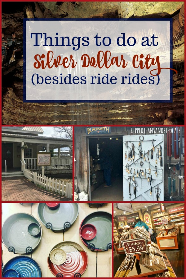 If you're looking for things to do at Silver Dollar City in Branson Missouri BESIDES ride rides, we've got you covered!|Ripped Jeans and Bifocals
