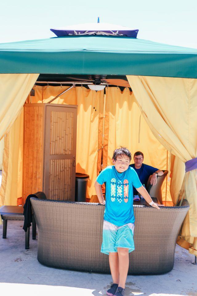 Cabana at Aquatica San Antonio