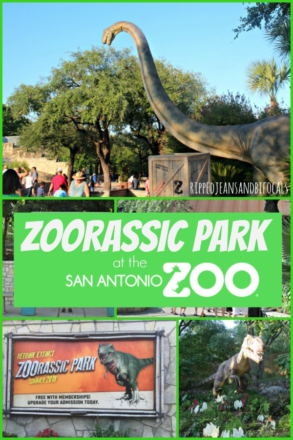 Zoorassic Park and Summer Fun at the San Antonio Zoo