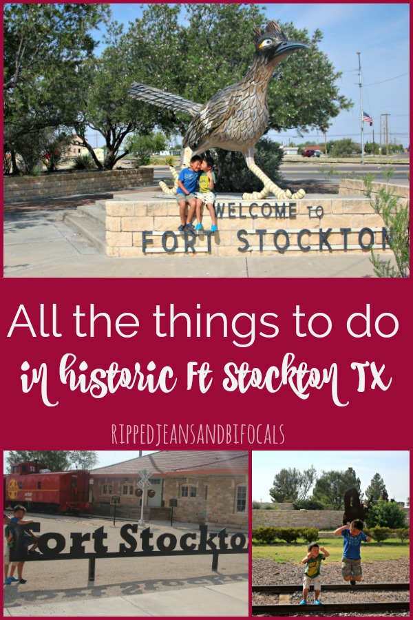 Things to do with kids in Fort Stockton Texas|Ripped Jeans and Bifocals