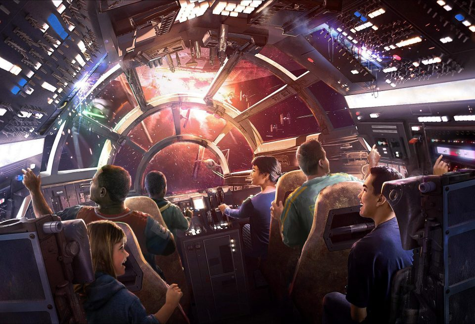 Picture of Millennium Falcon Ride|Star Wars Land Update Disneyland