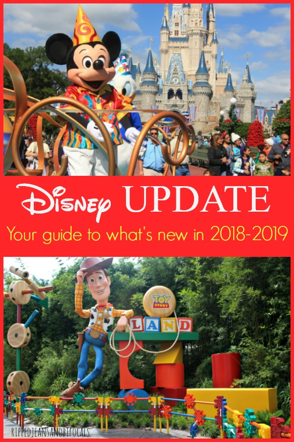 Your Disney 2018 Updates - What's new in the Disney Parks