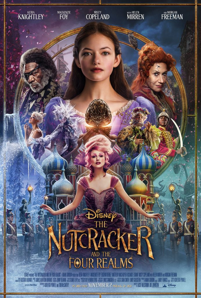 The Nutcracker and the Four Realms is the holiday movie you won't want to miss (I know I won't)