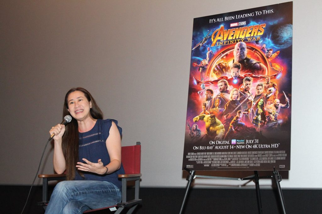 Girl Power is the New Black - Interview with Trinh Tran, Avengers Infinity War Executive Producer #InfinityWarBluRay