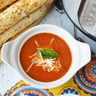 The BEST Instant Pot Tomato Soup EVER