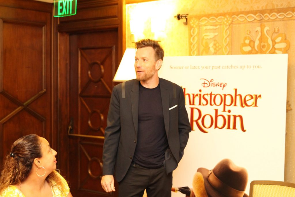 The man behind Christopher Robin - Interview with Ewan McGregor #ChristopherRobinEvent
