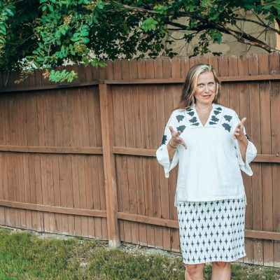 Stitch Fix Review – The box with the pencil skirts