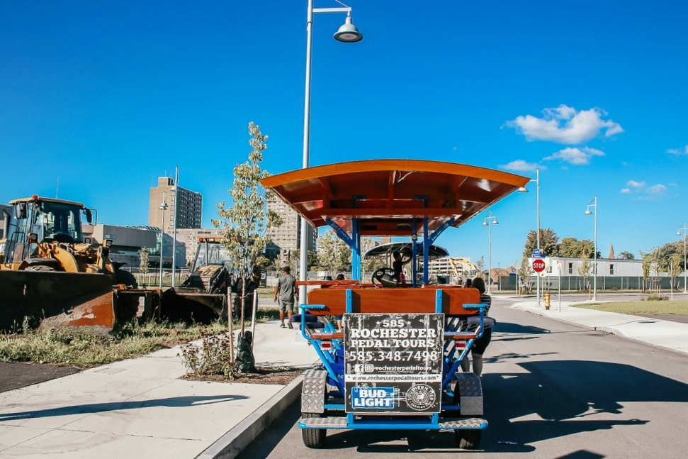 Rochester Pedal Tours: The BEST way to see the city