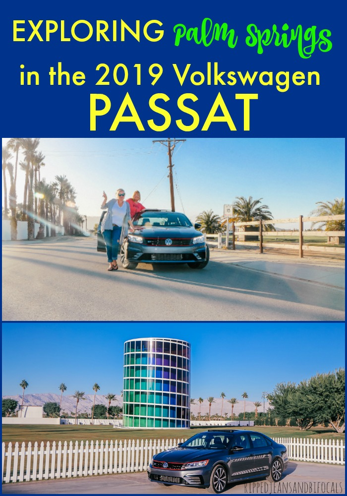 A review of the 2019 Volkswagen Passat driven in beautiful Palm Springs with a Girl's Guide to Cars