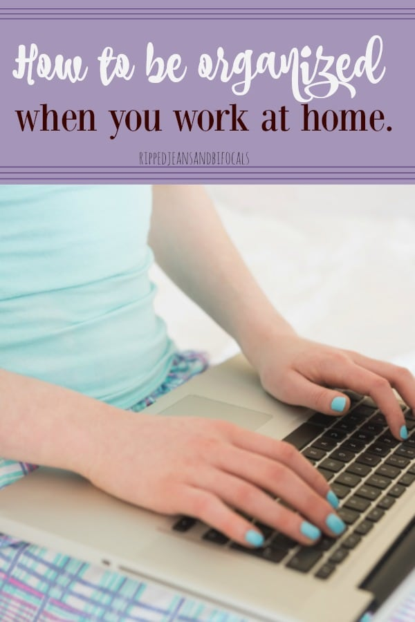 How to stay organized as a work at home mom|Erin Condren