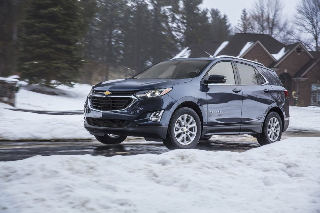 Winter driving tips for people who aren't used to driving in winter (with the Chevrolet Equinox)