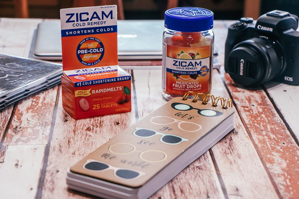 how to stay ahead of a cold with zicam