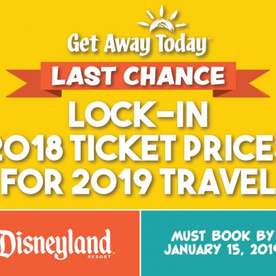 How to get the best prices on Disneyland Tickets (but this is your last chance.)
