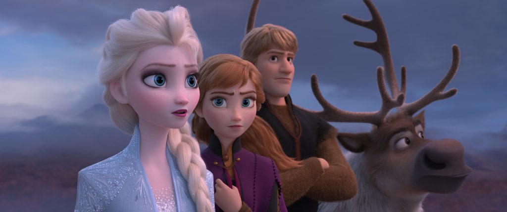 Picture of Elsa, Anna, Kristoff and Sven|The Frozen 2 Teaser Trailer has dropped and we all have questions