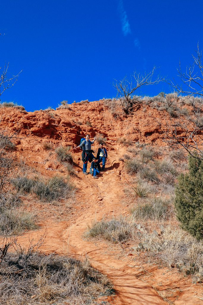 Palo Duro Canyon State Park During the Off Season