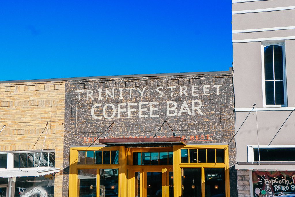Best places to take Instagram Photos in Decatur Texas|Trinity Street Coffee Bar Decatur Texas