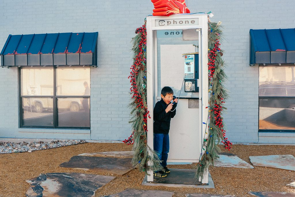 Best places to take Instagram Photos in Decatur Texas Phone booth in Decatur Texas