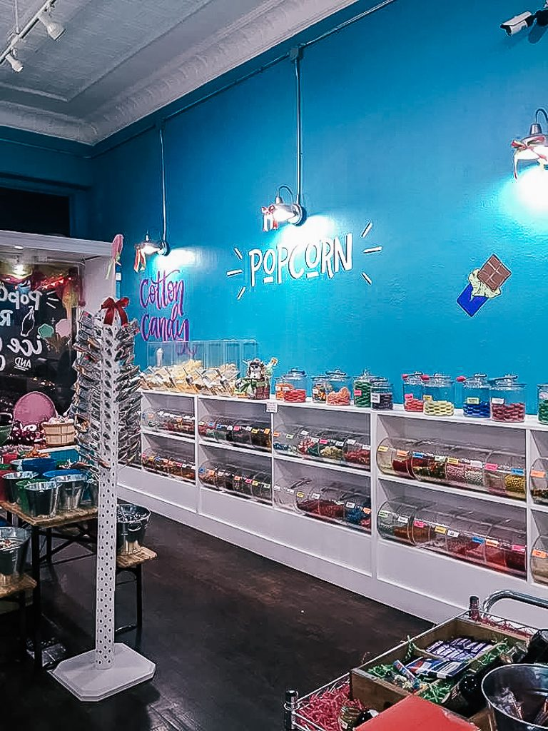 Best places to take Instagram Photos in Decatur Texas Hey Sugars Candy Shop in Decatur Texas