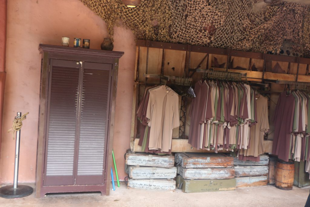 The Jedi Training Academy at Disney's Hollywood Studios: What you need to know|Padawan robes hanging up