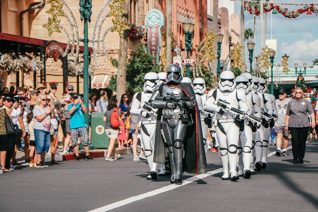 Open to close touring plan for Disney's Hollywood Studios|Captain Phasma and Storm Troopers at Hollywood Studios