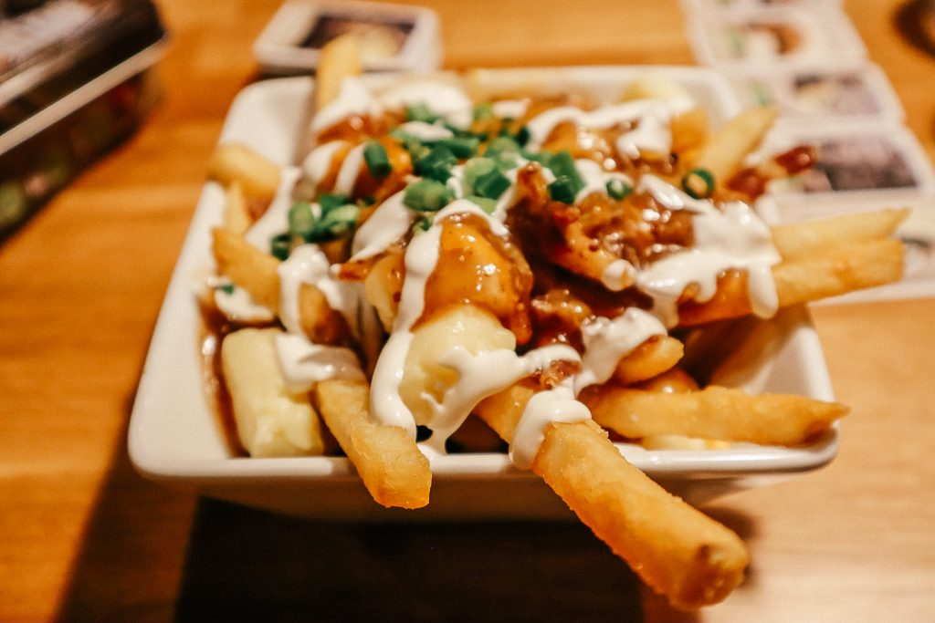 The Complete Guide to Tempe with Kids|Poutine at Snakes and Lattes