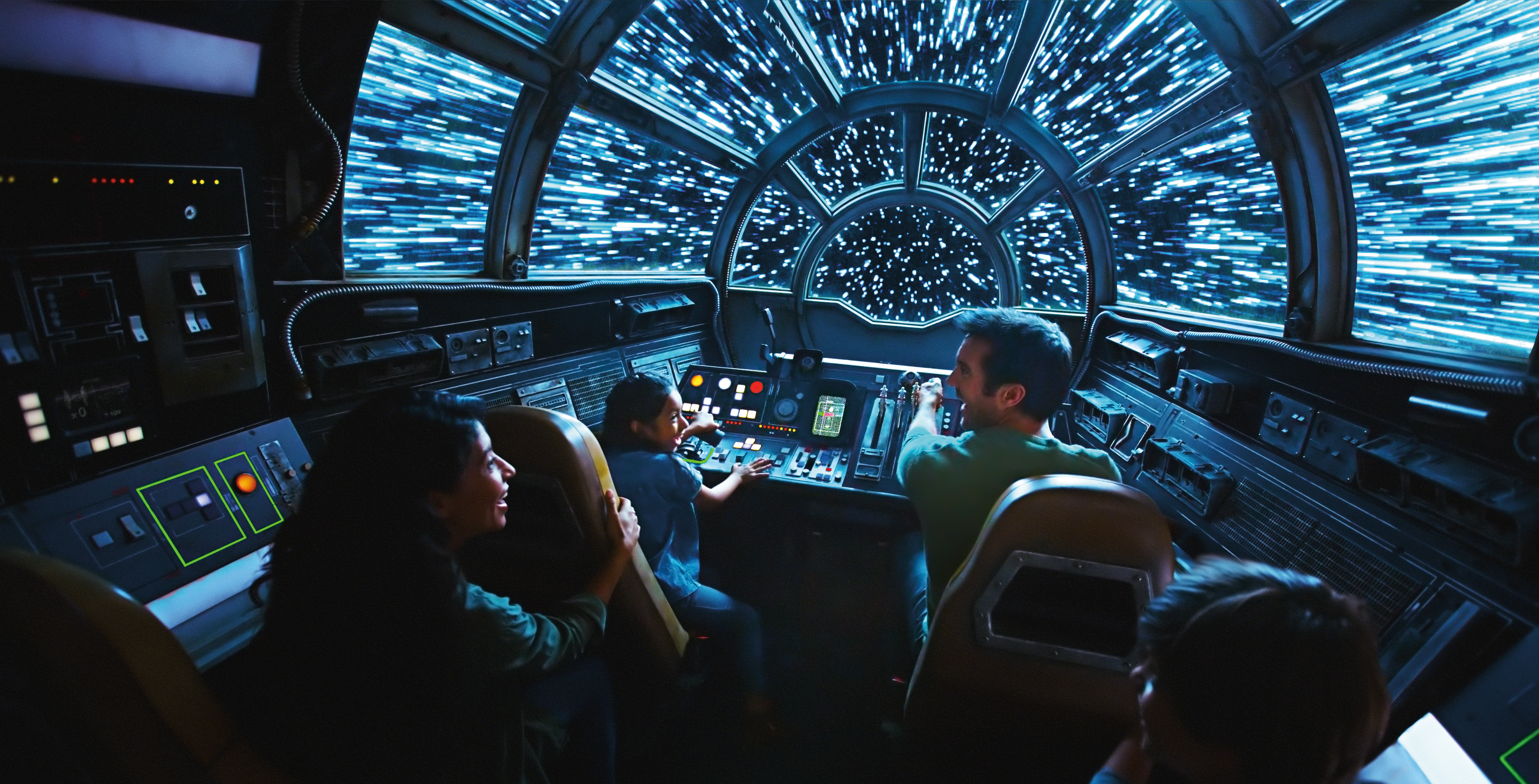 Star Wars Land Planning Disney World|Star Wars Land Planning Disneyland|Inside Millennium Falcon