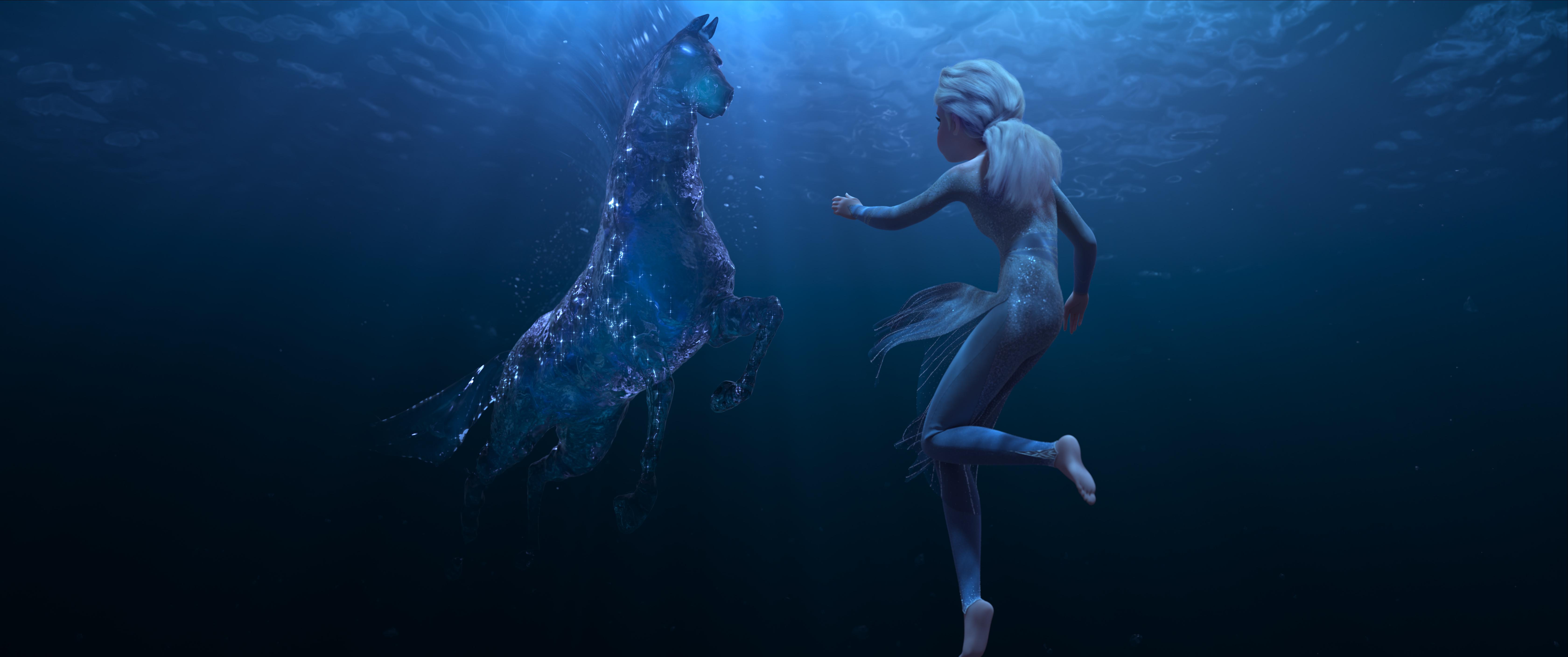 Frozen 2 trailer released June 11 Elsa underwater