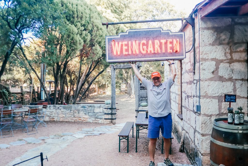 Fredericksburg Texas is great for spring break travel in Texas - it isn't just for adults