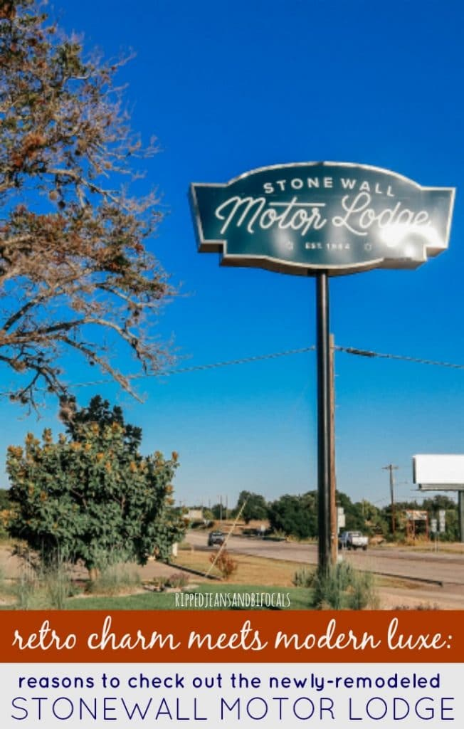 Check out the Stonewall Motor Lodge in Stonewall Texas, near Fredericksburg