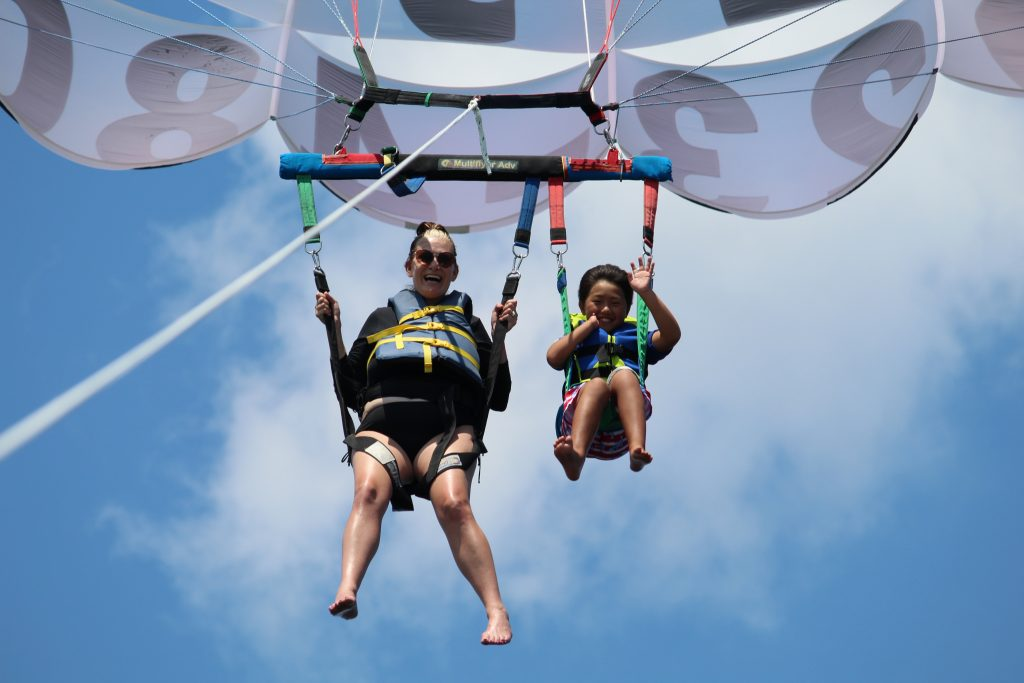 Parasailing in Gulf Shores Alabama - You have lots of options