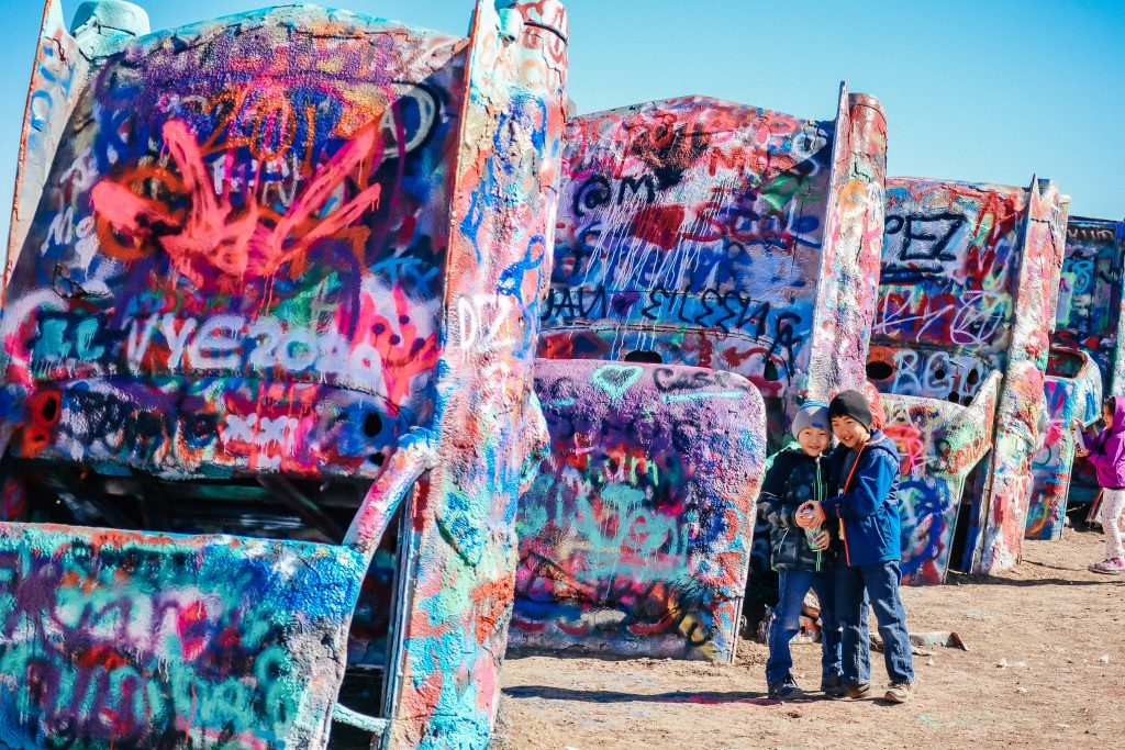 Spring Break in Texas: How about the Cadillac Ranch in