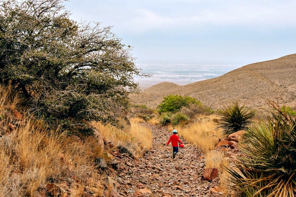 Spring Break Travel Texas - El Paso and the Franklin Mountains State Park