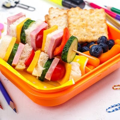 Outside the Lunchbox: Easy School Lunch Ideas & School Snack Ideas