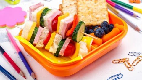 Sandwich kabobs easy school lunch ideas
