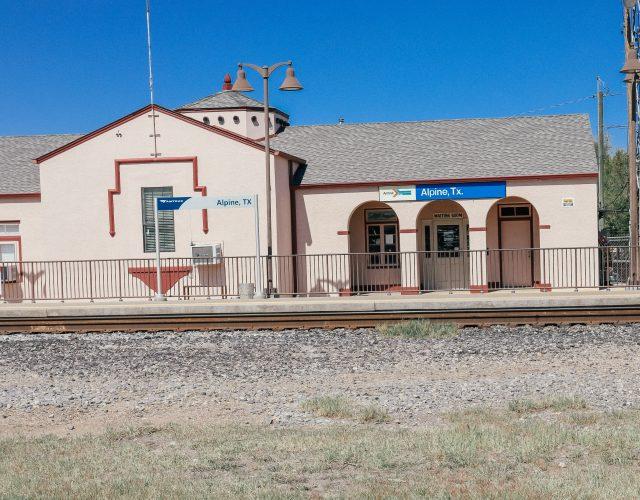 Train Station in Alpine TX