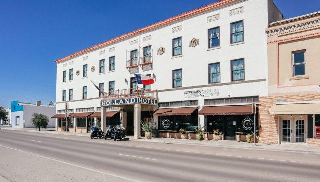 Holland Hotel in Alpine TX West Texas