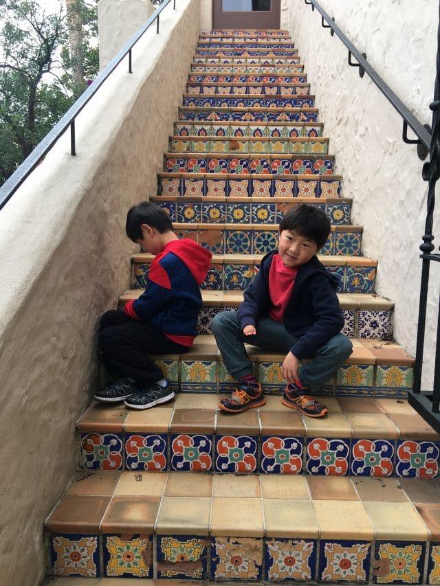 Steps at the McNay