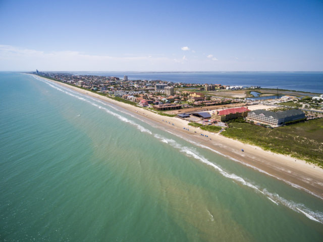 One of the things to do in South Padre Island is to visit the beautiful beaches!