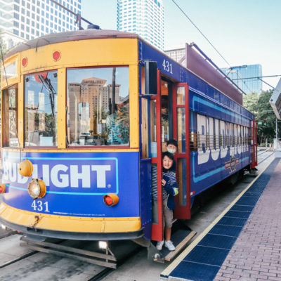 Free streetcar in Tampa Bay