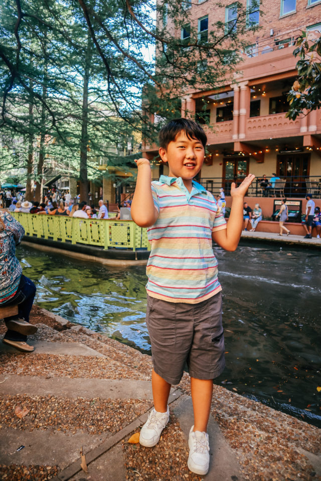 Riverboat cruise is a fun thing to do on a San Antonio staycation