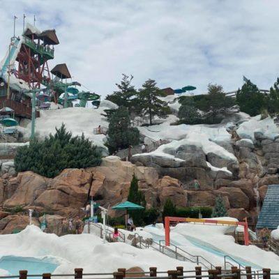 Summit Plummet at Blizzard Beach water park