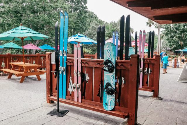 Lottawotta Lodge restaurant at Blizzard Beach