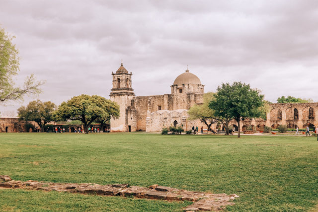 Mission San Jose in San Antonio Texas
