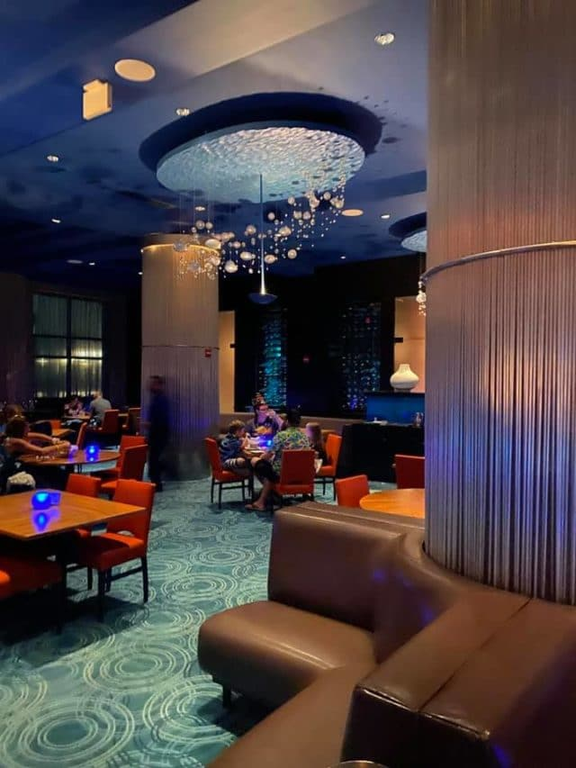 todd english's blue zoo restaurant at Disney World