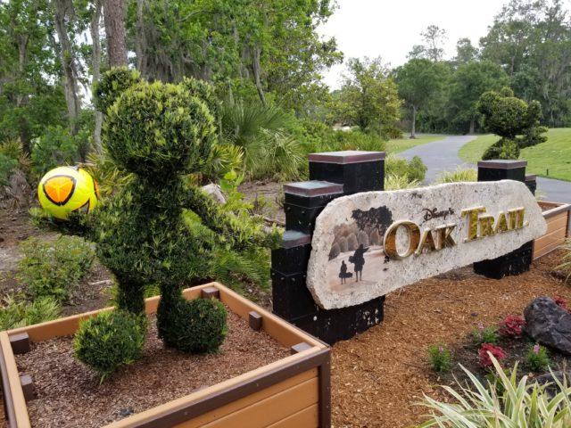 foot golf at Disney's Oak Trail golf course