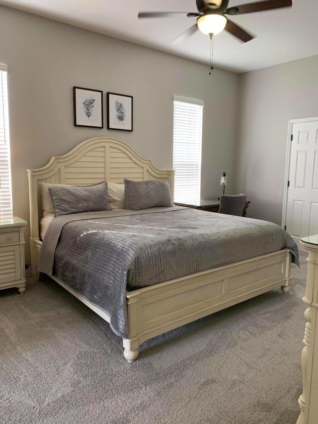 Master Suite at Character's Corner Vacation Home
